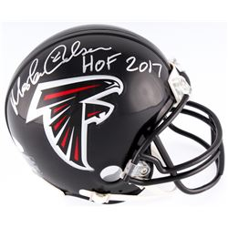"Morten Andersen Signed Falcons Mini Helmet Inscribed ""HOF 2017"" (JSA COA)"