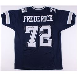 Travis Frederick Signed Cowboys Jersey (JSA COA)