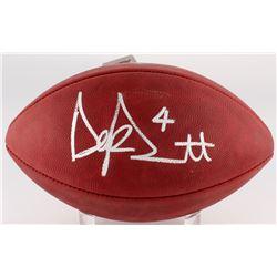 """Dak Prescott Signed """"The Duke"""" Official NFL Game Ball (JSA COA)"""