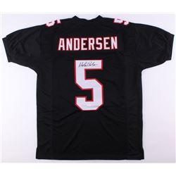 Morten Andersen Signed Falcons Jersey (JSA COA)