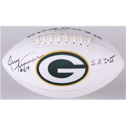"Jerry Kramer Signed Packers Logo Football Inscribed ""S.B. I + II"" (Radtke COA)"