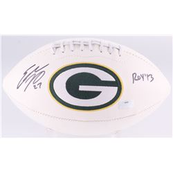 "Eddie Lacy Signed Packers Logo Football Inscribed ""ROY '13"" (Radtke Hologram)"