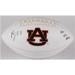 "Kerryon Johnson Signed Auburn Tigers Logo Football Inscribed ""2017 SEC OPOY"" (Radtke Hologram)"
