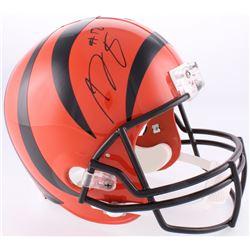 A. J. Green Signed Bengals Full-Size Helmet (JSA COA)