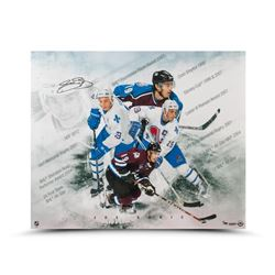 Joe Sakic Signed  Super Joe  LE 20x24 Photo (UDA COA)