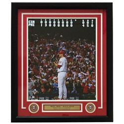 Roy Halladay Phillies NLCS No Hitter 22x27Custom Framed Photo Display
