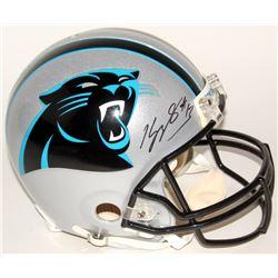 Kelvin Benjamin Signed Panthers Authentic On-Field Helmet (Radtke Hologram)