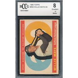 1960 Topps #564 Willie Mays AS
