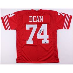 Fred Dean Signed 49ers Jersey (Schwartz COA)