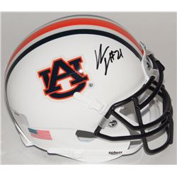 Kerryon Johnson Signed Auburn Tigers Mini-Helmet (Radtke COA)
