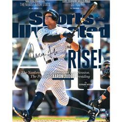 Aaron Judge Signed Yankees 16x20 Sports Illustrated Photo (Fanatics  MLB Hologram)