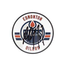 Paul Coffey Signed Oilers Acrylic Hockey Puck (UDA COA)