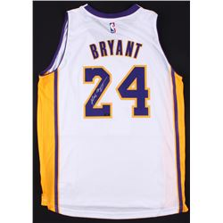 Kobe Bryant Signed Lakers Swingman Jersey (Panini COA)