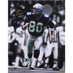 "Steve Largent Signed Seahawks 16x20 Photo Inscirbed ""HOF 95"" (JSA COA)"