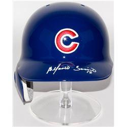 Alfonso Soriano Signed Cubs Authentic Rawlings Full-Size Batting Helmet (Radtke COA)