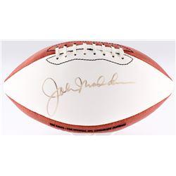 John Madden Signed Wilson Official NFL Football (JSA LOA)