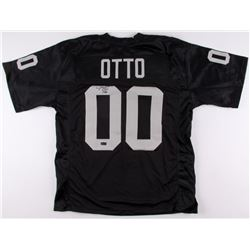 "Jim Otto Signed Raiders Jersey Inscribed ""H.O.F. 1980""  ""00"" (Radtke COA)"
