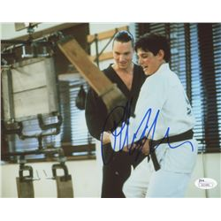 "Ralph Macchio Signed ""The Karate Kid Part III""  8x10 Photo (JSA COA)"