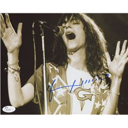 Patti Smith Signed  8x10 Photo (JSA COA)