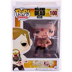 "Norman Reedus Signed ""The Walking Dead"" Injured Daryl Funko Pop! (Radtke COA)"