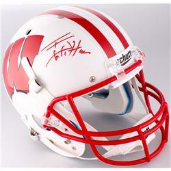 T. J. Watt Signed Wisconsin Badgers Full-Size Helmet (Radtke COA  Watt Hologram)