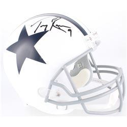 Tony Romo Signed Cowboys Full-Size Helmet (JSA COA)