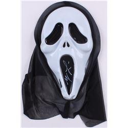 "Matthew Lillard Signed Ghostface ""Scream"" Mask (Radtke COA)"