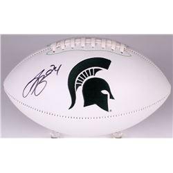 Le'Veon Bell Signed Michigan State Spartans Logo Football (JSA COA)