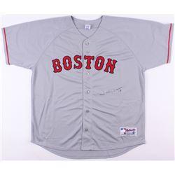 Johnny Damon Signed Red Sox Jersey (JSA COA)