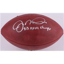 "Joe Montana Signed Super Bowl XXIII Official NFL Game Ball Inscribed ""SB XXIII Champs"" (Montana Holo"