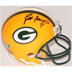 Brett Favre Signed Packers Mini-Helmet (Favre Hologram)