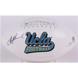 Troy Aikman Signed UCLA Bruins Logo Football (Radtke COA  Aikman Hologram)