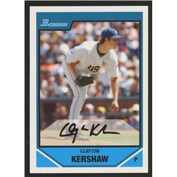 2007 Bowman Draft Future's Game Prospects #BDPP77 Clayton Kershaw