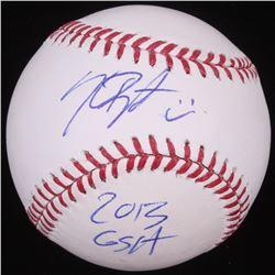"""Kris Bryant Signed OML Baseball Inscribed """"2013 GSA"""" (JSA COA)"""