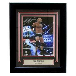"Bill Goldberg Signed ""Wrestlemania"" 13x16 Custom Framed Photo Display (Beckett COA)"
