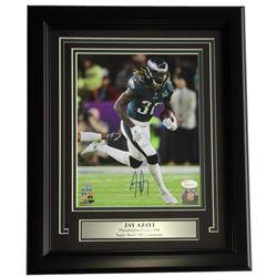 Jay Ajayi Signed Eagles 11x14 Custom Framed Photo Display (JSA COA)