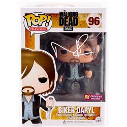 """Norman Reedus Signed The Walking Dead """"Biker Daryl"""" Funko Pop Figure (Radtke COA)"""