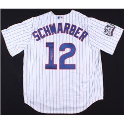Kyle Schwarber Signed Cubs Jersey (Schwartz COA)