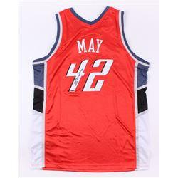 Sean May Signed Bobcats Jersey (UD COA)