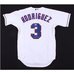Alex Rodriguez Signed Rangers Rawlings Jersey (JSA COA  Schwartz COA)