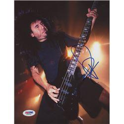 Tom Araya Signed 8x10 Photo (PSA COA)