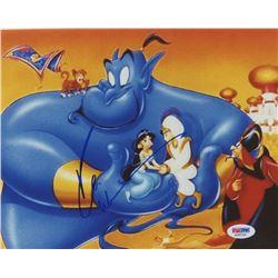 """Robin Williams Signed """"Aladdin"""" 8x10 Photo (PSA COA)"""