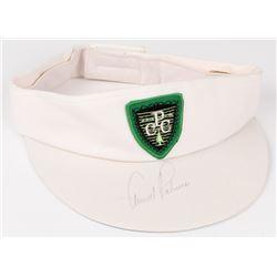 Arnold Palmer Signed Conklin Players Club Golf Visor (Stacks of Plaques COA)