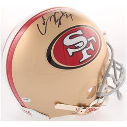 Colin Kaepernick Signed 49ers Full-Size Authentic On-Field Helmet (PSA COA)