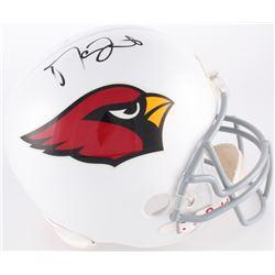 Matt Leinart Signed Cardinals Full-Size Helmet (JSA COA)