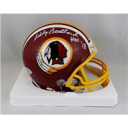 """Bobby Beathard Signed Redskins Mini Helmet Inscribed """"HOF '18"""" (Beckett COA)"""