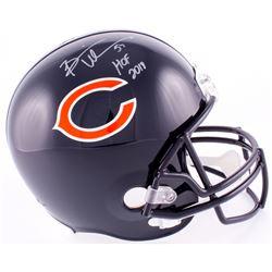 """Brian Urlacher Signed Bears Full-Size Helmet Inscribed """"HOF 2018"""" (Schwartz COA)"""