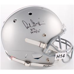 """Archie Griffin Signed Ohio State Buckeyes Full-Size Helmet Inscribed """"HT 1974/75"""" (JSA COA)"""