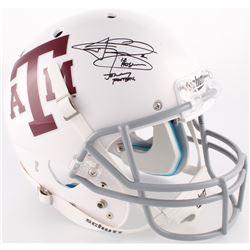 "Johnny Manziel Signed Texas AM Full-Size Helmet Inscribed ""'12 Heisman""  ""Johnny Football"" (JSA COA)"
