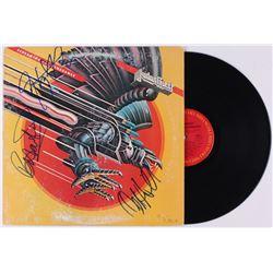 "Rob Halford, Ian Hill,  Glenn Tipton Signed Judas Priest ""Screaming for Vengeance"" Vinyl Record Albu"